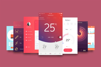 Design astonishing Mobile App Mockup