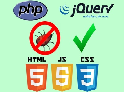 Fix jQuery HTML bug or issue
