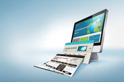 Create an amazing  3 Page HTML Website
