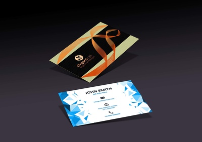 Design professional modern sleek Business Card