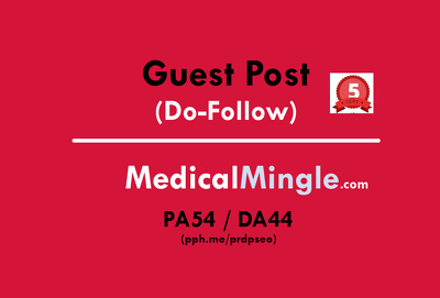 Guest post on Health Site Medicalmingle / Medicalmingle.com (Do-Follow)
