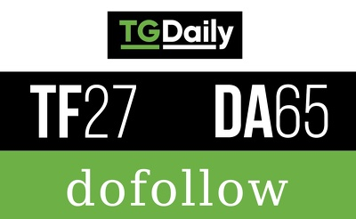 Publish a Do follow guest post on TGDAILY.COM – TGDAILY (DA 72) Indexed link
