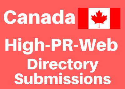 Promote your website in 40 Canada Web Directory Submissions