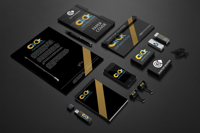Design Professional Corporate Brand Identity