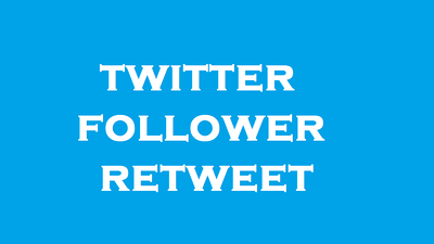 3000 HQ twitter follower 2000 retweet 2000 favorites to Improve Your Social Media