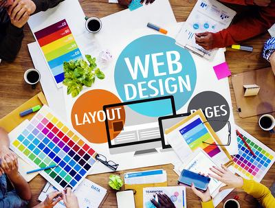 Design & Develop fully Responsive Wordpress website with Blog + FREE Premium Theme