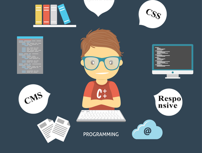 Fix any wordpress, Html, Css And Responsive problem