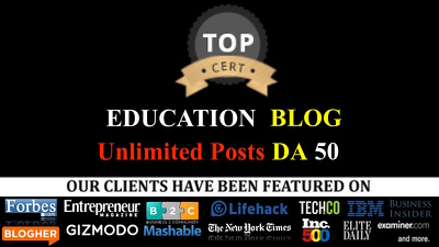 Guest Posting Service: Education Niche DA 50 futureofeducation.com guest post