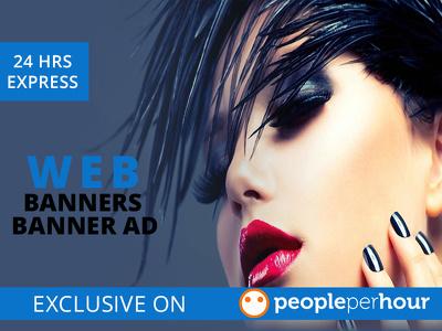 Design Your Web Banner, Social Media Banner Ad