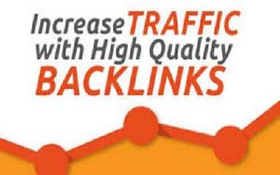Make back link by applying white hat SEO