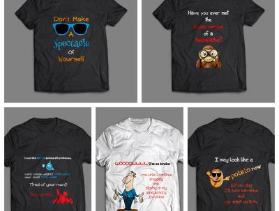 Design amazing Typography / Custom T-shirt  professionally
