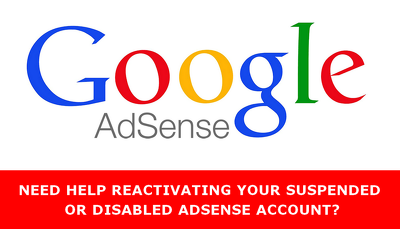 Provide help to remove Penalty on your disabled or suspended Adsense account