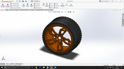 Create a Solidworks 3D model