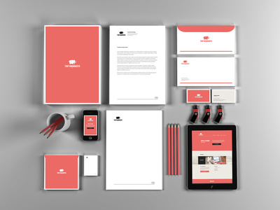 Design complete brand identity (stationery designs + logo)