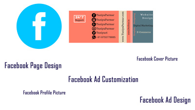 Design facebook page, cover and profile picture, and one facebook ad