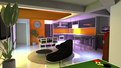 Create 3D models of building designs and provide architectural services