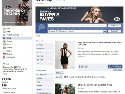 Do Create Facebook Online Shop Store