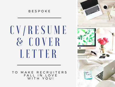 Create you a bespoke resume & cover letter that recruiters will LOVE