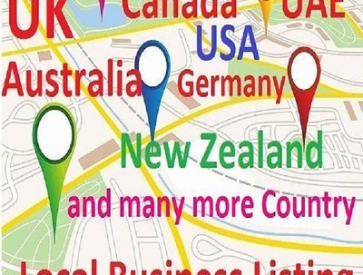 Build 40 Local Citations, All Country Business Directory Listings, All Listing Live
