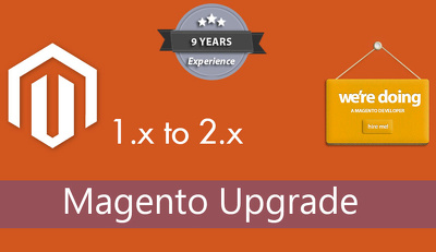Upgrade Magento 1.x to 2.x latest stable version