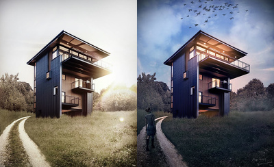 Do Architectural Post Production