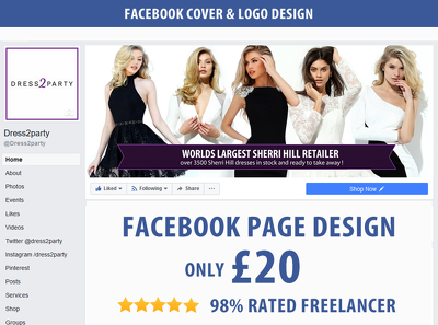 Design your social media pages