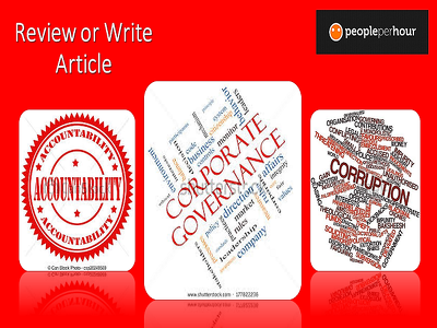 Write article on governance