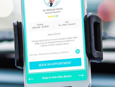 Create unique UI mobile app design
