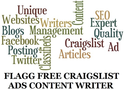 Create 10 Flag Free Craigslist Titles and Posting Body