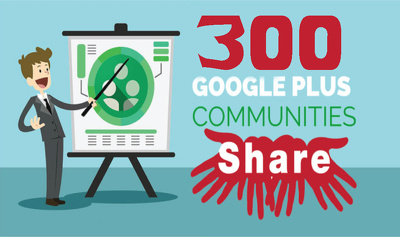 Share Your Link 300 Google Plus Community