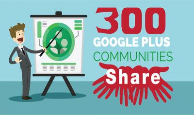 Share Your Link 300 Google Plus Community