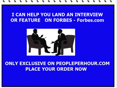 Publish your INTERVIEW  on Forbes - Forbes.com