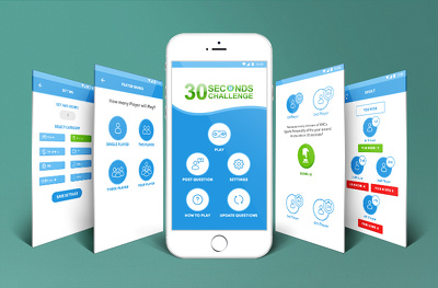 Design Professional iPhone/Android app Screens with Unlimited Revisions (10 Screens)