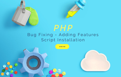 Fix PHP script error, issue, problem and explain solution