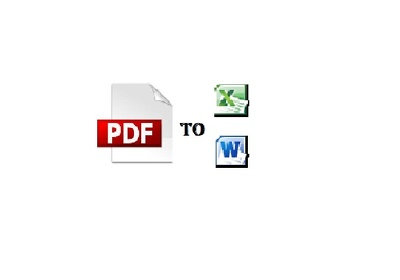Convert up to 10 pages Scanned PDF or JPG / PNG Images to Word or Excel