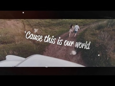 Add Lyrics to Music Video in this trendy style, similar to The Chainsmokers - Closer