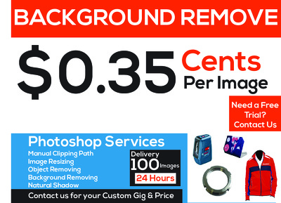 Background Remove 100 Images within 24 hours