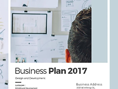 Full-length professional business plan with MR & Finances with design