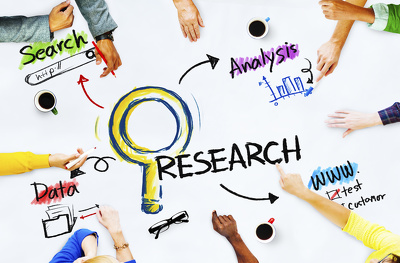 Provide 1 Hour of High Quality Market Research OR Data Research