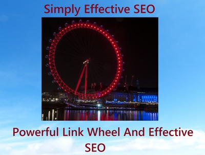 Highly effective link wheel building strong SEO links to your website