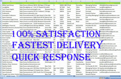 Collect 100 targeted person email address for your company list