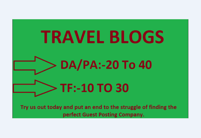 Guest Post On My Quality Travel Blogs