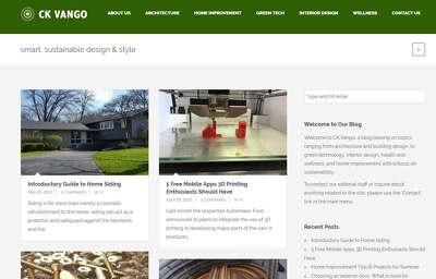 Publish Your Post on My Home Improvement, Design, & Green Tech Blog
