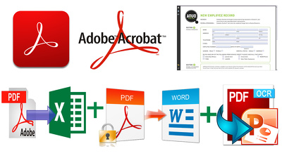 Edit Your PDf Ducment with adobe acrobat pro also convert pdf to Others