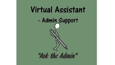 Be your Virtual Assistant = Admin Support, Research, Data Entry for 1 hour
