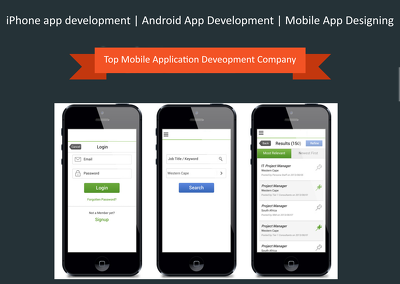Develop iPhone / Android Mobile apps