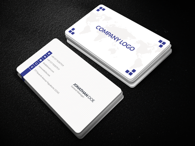 Design a professional, double sided business/membership/gift card  unlimited revision