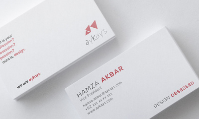 Design business cards that people would love to keep