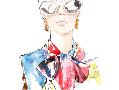 Create beautiful Fashion ilustration