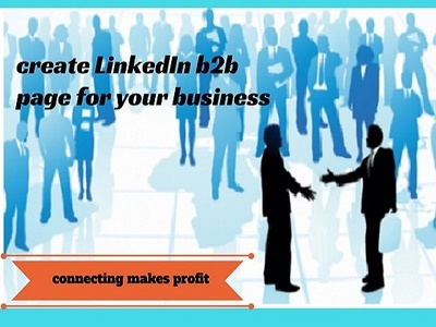 Create LinkedIn b2b page for your business